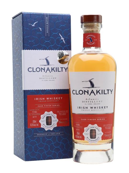 Clonakilty Port Cask Irish Whiskey Blended Irish Whiskey