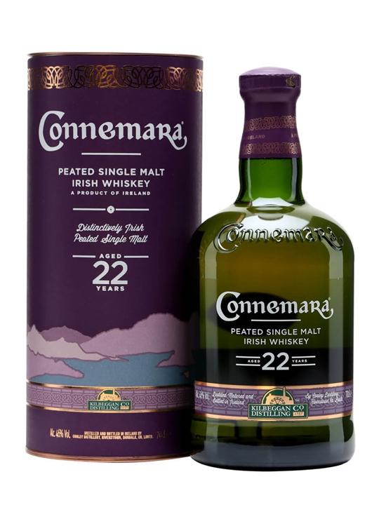Connemara 22 Year Old / Peated Single Malt Irish Single Malt Whiskey