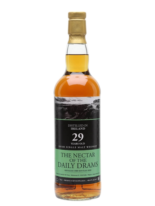 Irish Single Malt 1989 / 29 Year Old / Daily Dram Irish Whisky