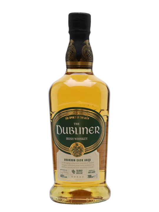 Dubliner Irish Whisky / Bourbon Cask Irish Blended Whiskey
