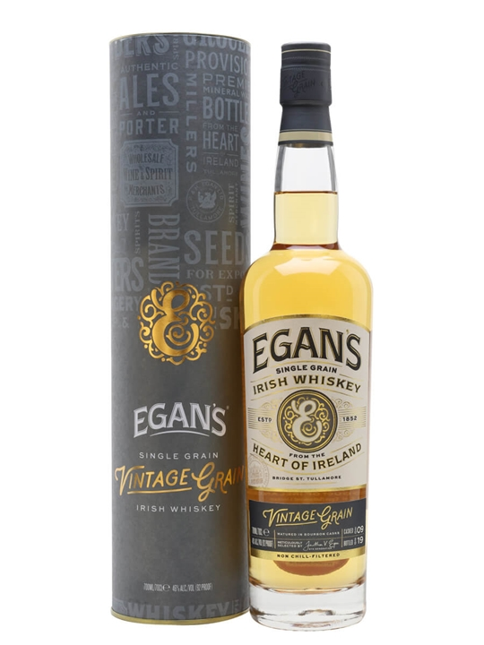 Egan's Vintage Grain Irish Single Grain Whiskey