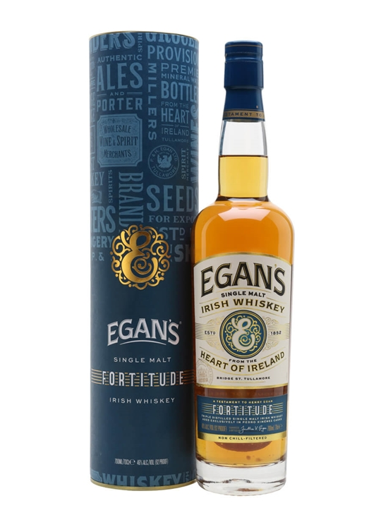 Egan's Fortitude Single Malt Irish Single Malt Whiskey
