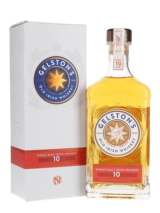 Gelston's 10 Year Old Single Malt Irish Whiskey