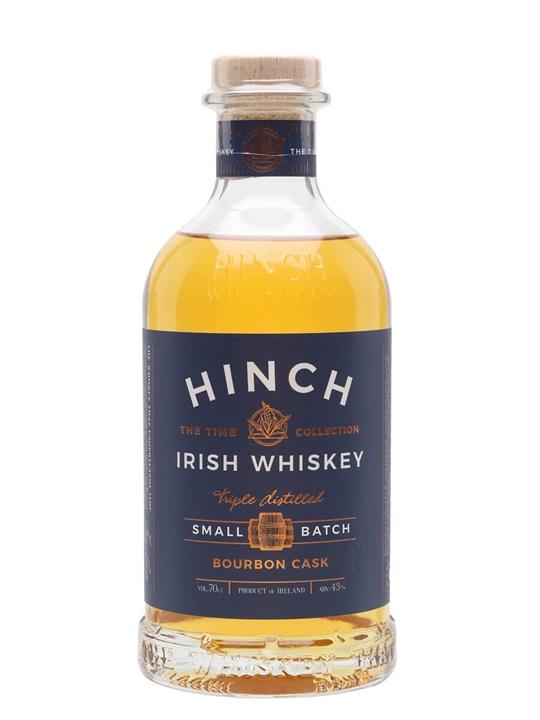 Hinch Small Batch Bourbon Cask Irish Whiskey Blended Irish Whiskey