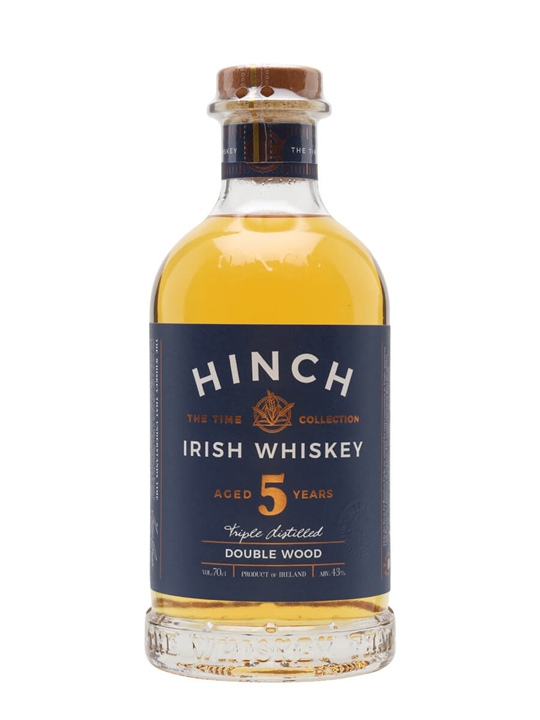 Hinch 5 Year Old Double Wood Irish Whiskey Blended Irish Whiskey