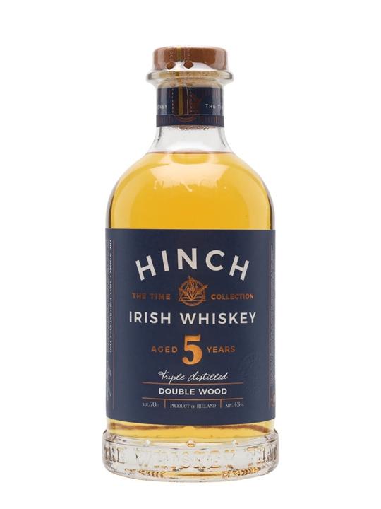 Hinch 5 Year Old Double Wood Irish Whiskey Blended Irish Whiskey