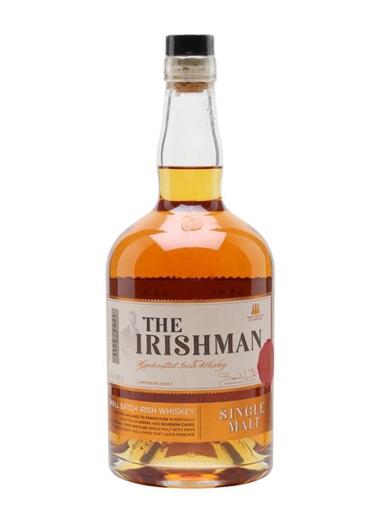 The Irishman Single Malt Single Malt Irish Whiskey