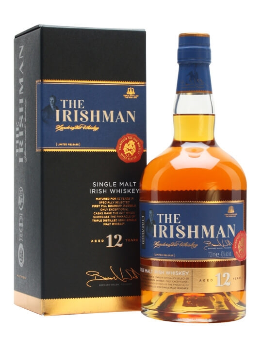 The Irishman 12 Year Old Single Malt Single Malt Irish Whiskey