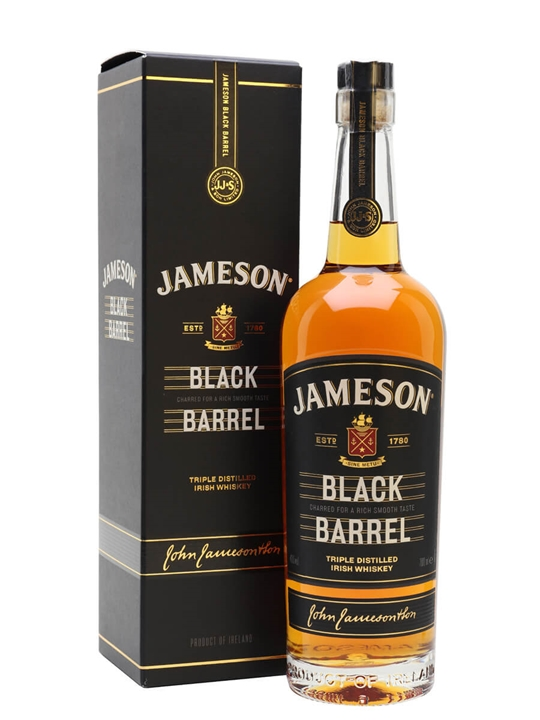 Jameson Black Barrel Irish Blended Whiskey