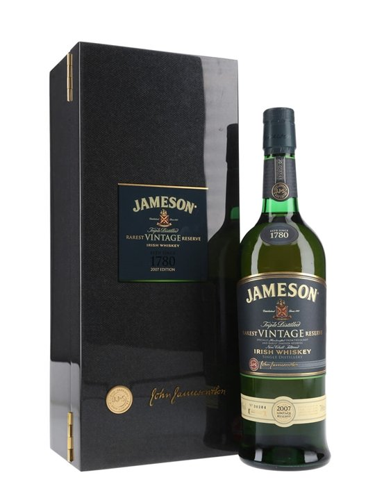 Jameson 2007 Rarest Vintage Reserve Blended Irish Whiskey