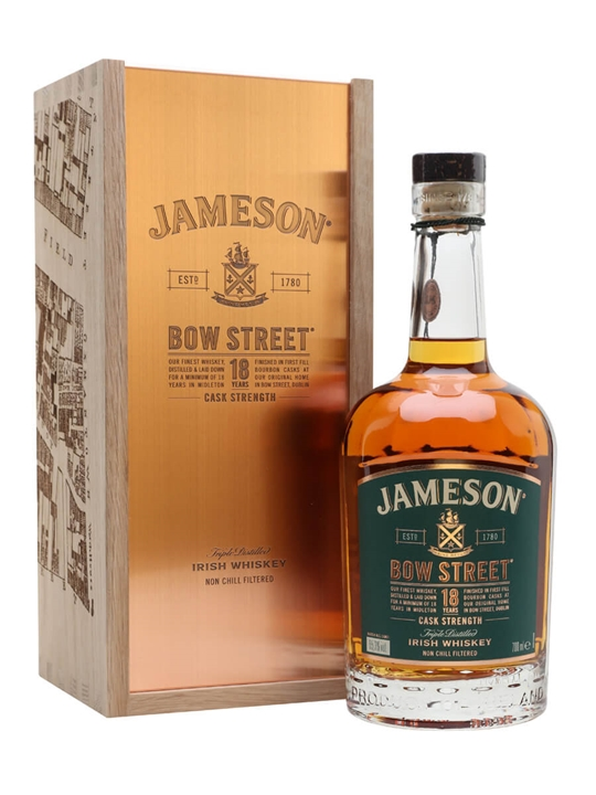 Jameson 18 Year Old / Bow Street Edition (55.3%) Irish Whiskey