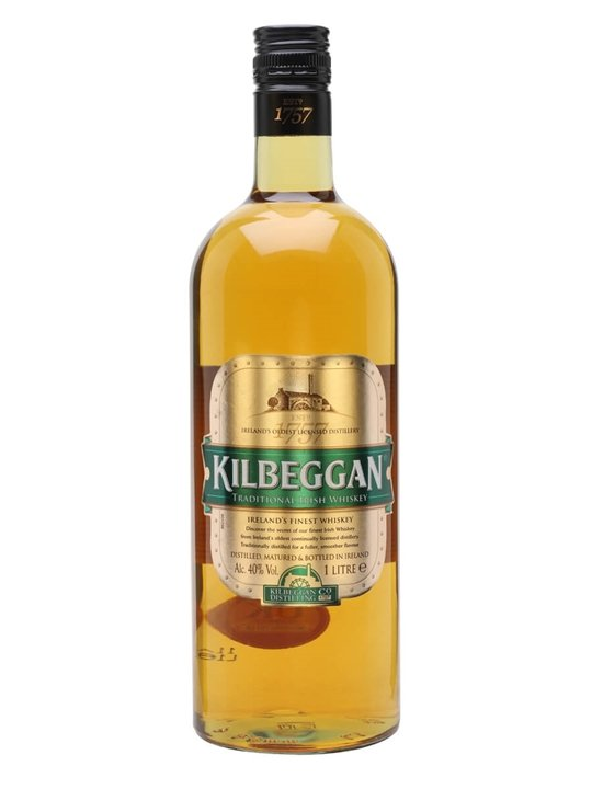 Kilbeggan Traditional Irish Whiskey / Litre Blended Irish Whiskey