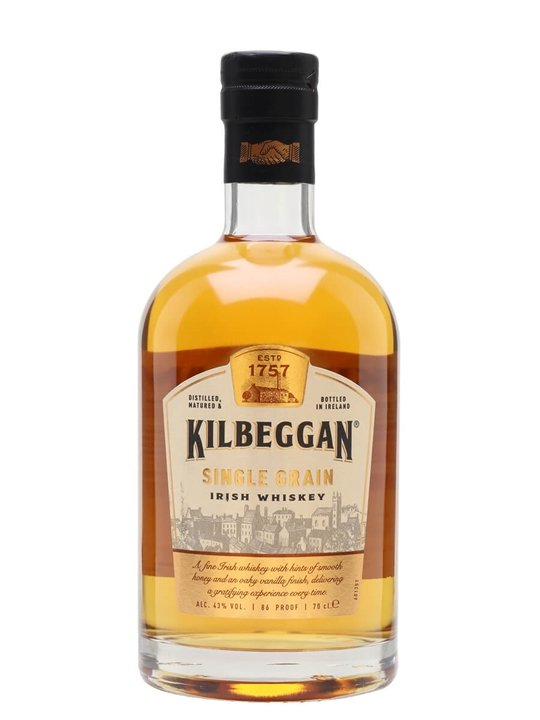 Kilbeggan Single Grain Single Grain Irish Whiskey