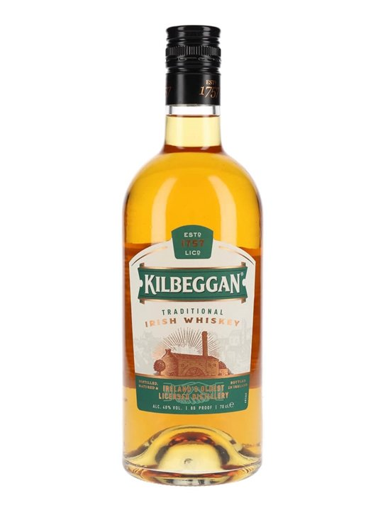 Kilbeggan Traditional Irish Whiskey Blended Irish Whiskey