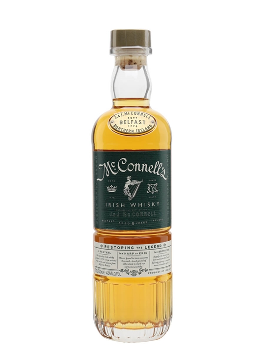 McConnell's 5 Year Old Irish Whisky Blended Irish Whiskey