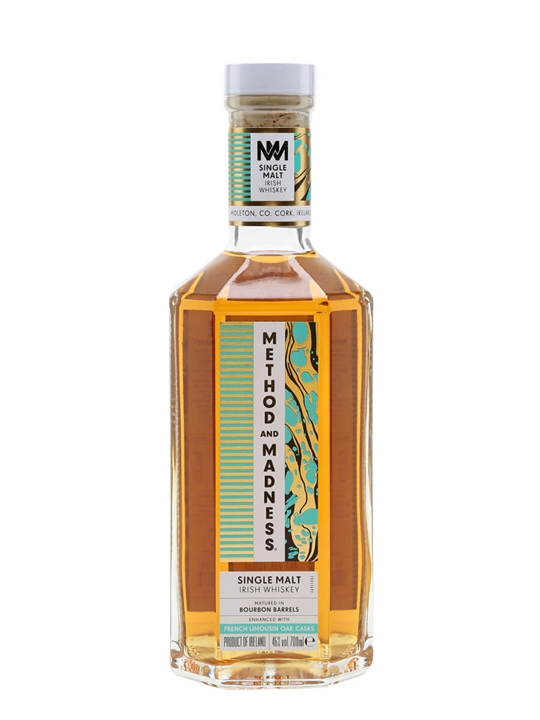 Method and Madness Single Malt Irish Single Malt Whiskey