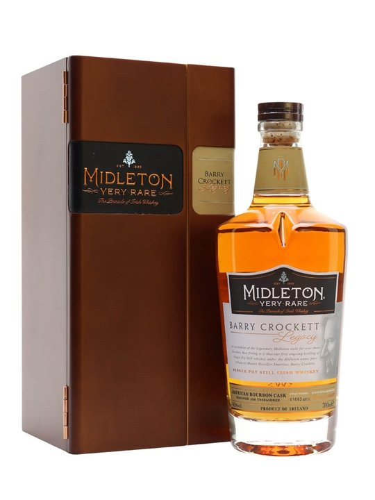 Midleton Barry Crockett Legacy Single Pot Still Irish Whiskey