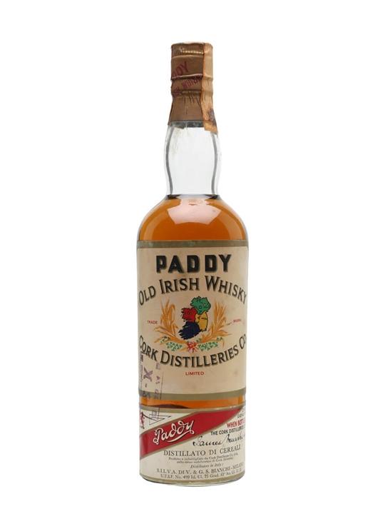 Paddy / Bot.1960s Blended Irish Whiskey