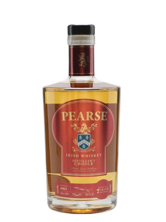 Pearse Distillers Choice Irish Whiskey Blended Irish Whiskey