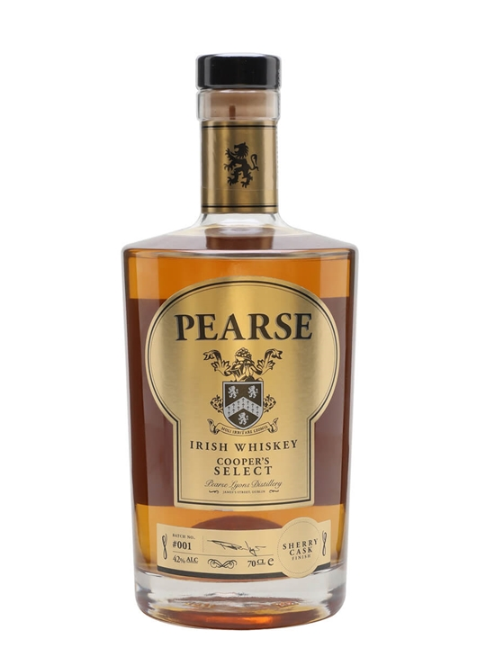 Pearse Cooper's Select Irish Whiskey Blended Irish Whiskey