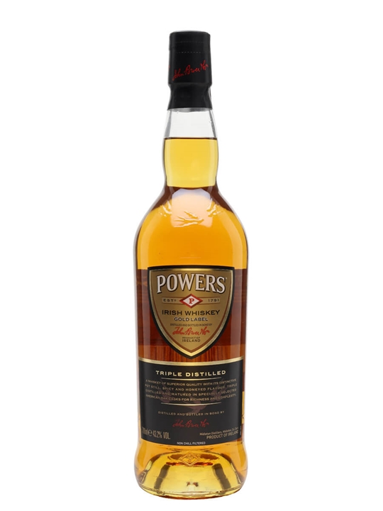 Powers Gold Label Irish Whiskey Blended Irish Whiskey