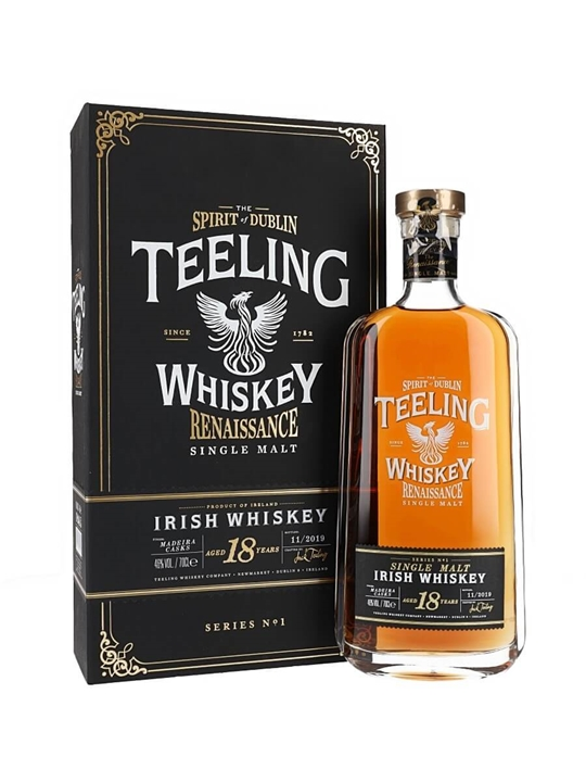 Teeling 18 Year Old / Renaissance Single Malt Irish Whiskey
