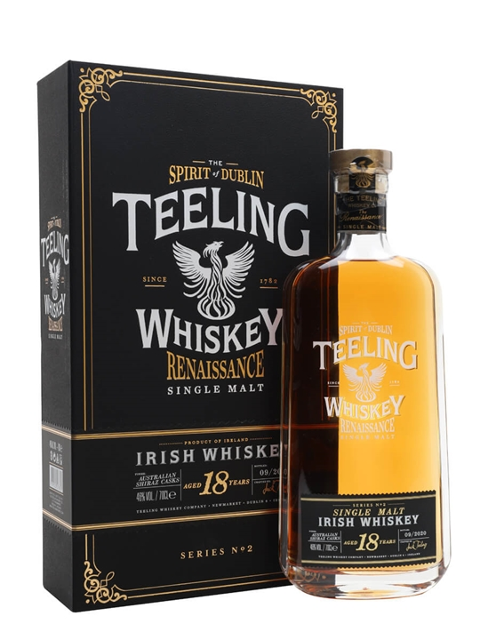 Teeling 18 Year Old / Renaissance Series 2 Single Malt Irish Whiskey