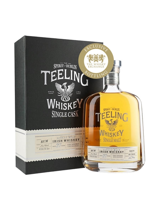 Teeling 1991 / 27 Year Old / The Whisky Exchange Exclusive