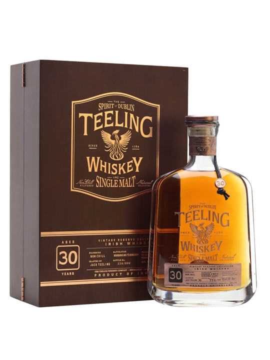 Teeling 30 Year Old / Vintage Reserve Irish Single Malt Whiskey