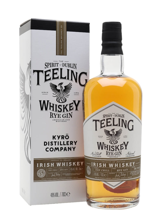 Teeling Kyro Rye Gin Cask Blended Irish Whiskey