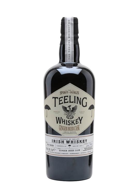 Teeling Whiskey Ginger Beer Cask Blended Irish Whiskey