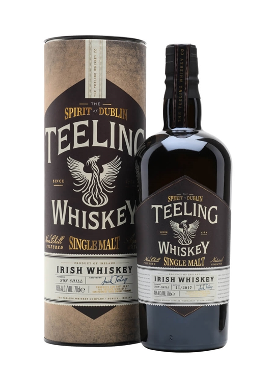 Teeling Single Malt Whiskey Single Malt Irish Whiskey