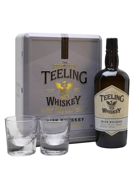 Teeling Small Batch Whiskey / 2 Glasses Gift Pack