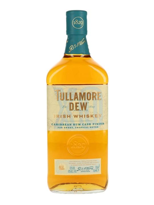 Tullamore Dew Caribbean Rum Finish Blended Irish Whiskey