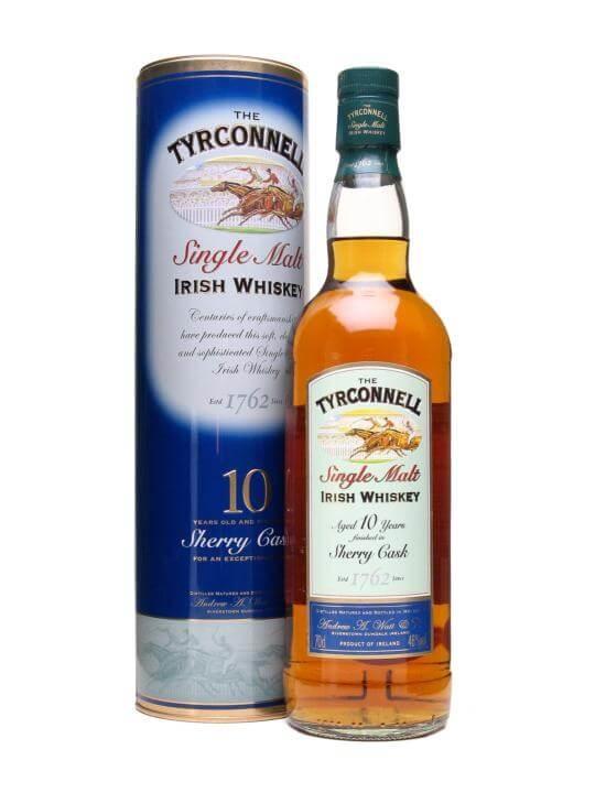 Tyrconnell 10 Year Old / Sherry Finish Irish Single Malt Whiskey