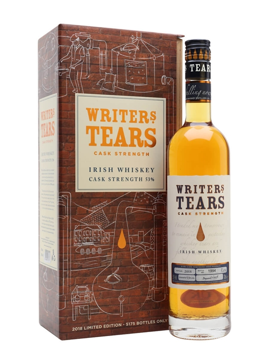 Writers Tears Cask Strength / Bot.2018 Blended Irish Whiskey