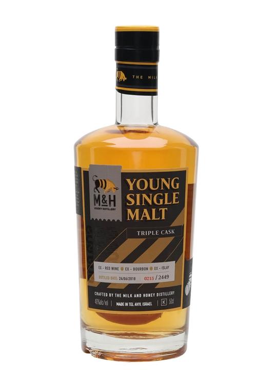 Milk & Honey Young Single Malt / Triple Cask Israeli Whisky