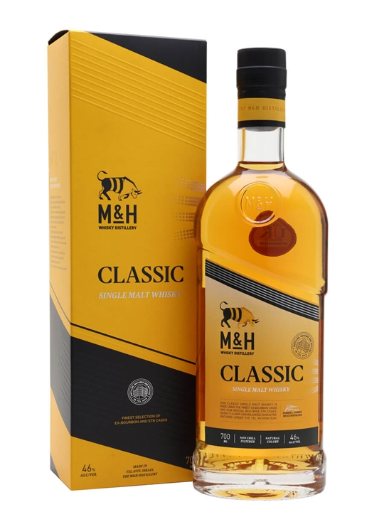 Milk & Honey Classic Single Malt Israeli Single Malt Whisky
