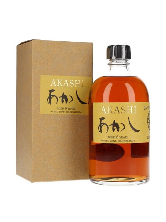 Akashi 6 Year Old / White Wine Cask Japanese Single Malt Whisky