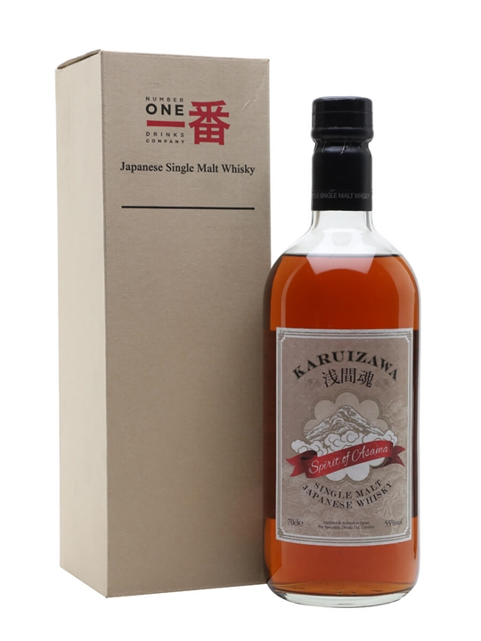Karuizawa Spirit of Asama / 55% Japanese Single Malt Whisky