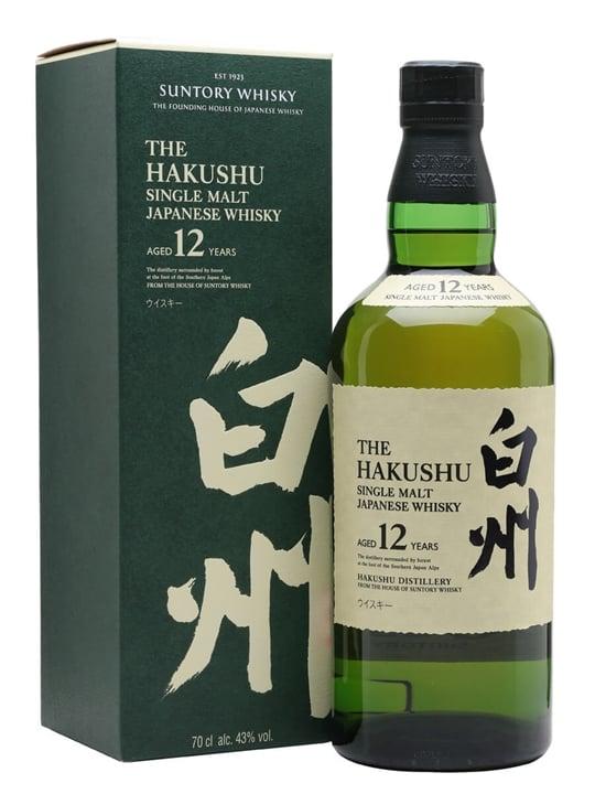 Suntory Hakushu 12 Year Old Japanese Single Malt Whisky