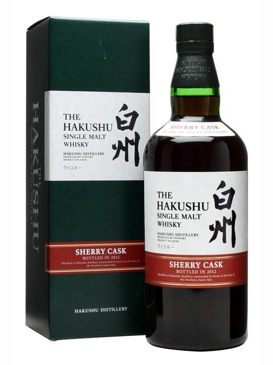 Suntory Hakushu Sherry Cask / Bot.2012 Japanese Single Malt Whisky