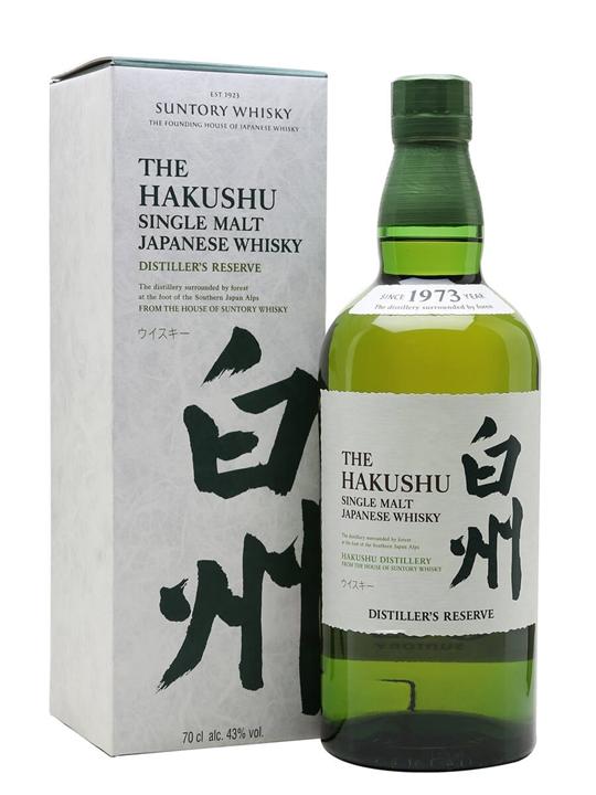 Suntory Hakushu Distiller's Reserve Japanese Single Malt Whisky