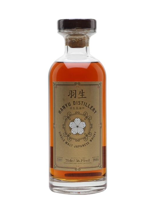 Hanyu 2000 / Cask 362 / TWE Bottling Japanese Single Malt Whisky