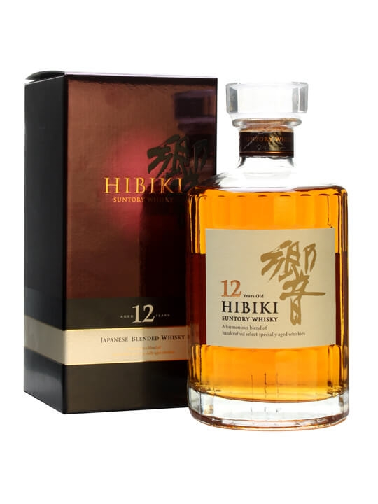 Suntory Hibiki 12 Year Old Japanese Blended Whisky