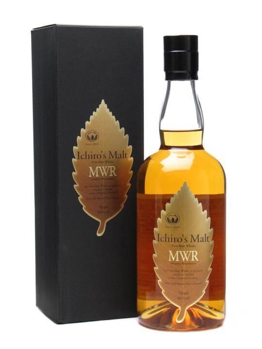 Ichiro's Malt Mwr / Mizunara Wood Reserve Japanese Blended Malt Whisky