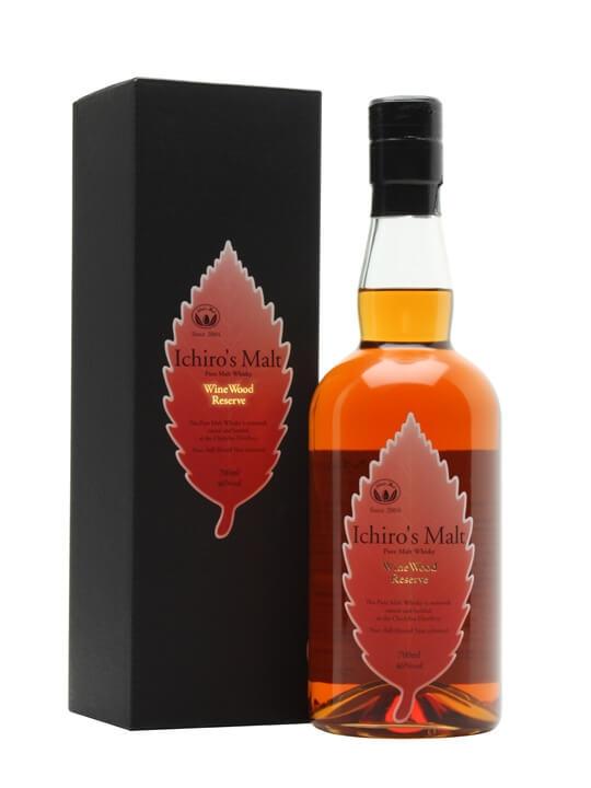 Ichiro's Malt Wine Wood Reserve Japanese Blended Malt Whisky