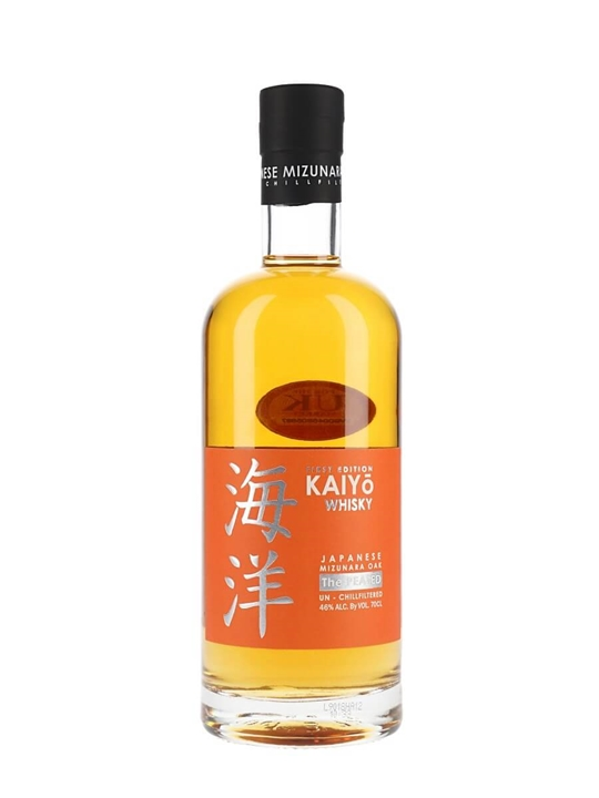 Kaiyo Peated Mizunara Oak Japanese Whisky