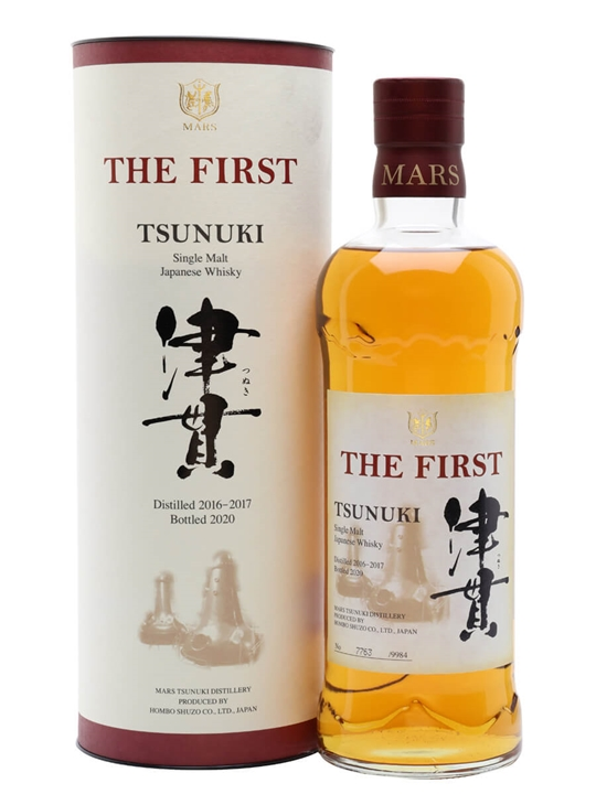 Mars Tsunuki The First Single Malt Single Malt Japanese Whisky