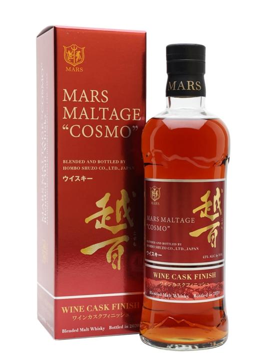Mars Cosmo Wine Cask Finish Japanese Blended Malt Whisky